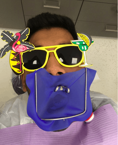 Root canal safety Rubber dam